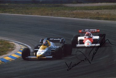 KEKE ROSBERG Autographed signed 8x10 Photo Picture REPRINT