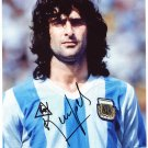 MARIO KEMPES  Autographed signed 8x10 Photo Picture REPRINT