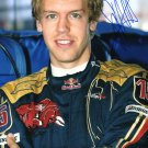 SEBASTIAN VETTEL Autographed signed 8x10 Photo Picture REPRINT