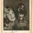 SONJA HENIE Autographed signed 8x10 Photo Picture REPRINT