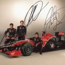VIRGIN RACING  Autographed signed 8x10 Photo Picture REPRINT