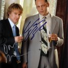 OWEN WILSON & VINCE VAUGHN Autographed signed 8x10 Photo Picture REPRINT