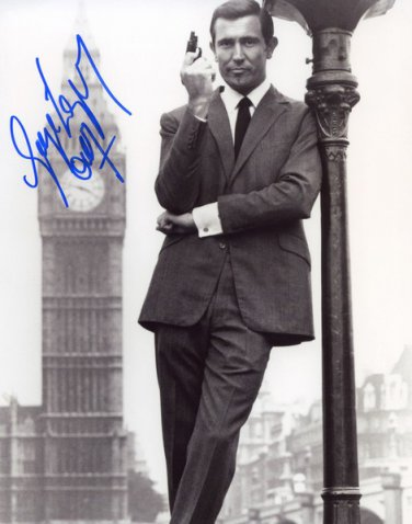 GEORGE LAZENBY 007 Autographed signed 8x10 Photo Picture REPRINT