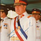 Colonel PINOCHET Autographed signed 8x10 Photo Picture REPRINT