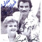 TOM SELLECK & ANGELA LANSBURY Autographed signed 8x10 Photo Picture REPRINT
