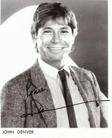 JOHN DENVER Autographed signed 8x10 Photo Picture REPRINT