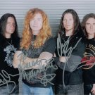 MEGADETH Autographed signed 8x10 Photo Picture REPRINT