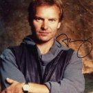 STING POLICE Autographed signed 8x10 Photo Picture REPRINT