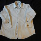 New MATERIAL LONDON Long Sleeve Casual Shirt Size XL