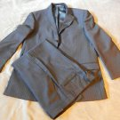 New ZANETTI Size 44T Brown 3 Button SUIT w/ 2 VENTS Made in ITALY