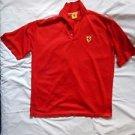 100% Authentic FERRARI Polo Shirt Size 2XL  Slightly Used