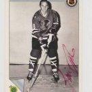 Original JIM PAPPIN Autographed NHL Ultimate 2.5x3.5 Card w/COA