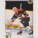 Original BILL MOSIENKO Autographed NHL Ultimate 2.5x3.5 Card w/COA