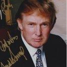 ORIGINAL Authentic President DONALD TRUMP Autographed Signed 8x10 Photo Picture