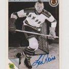 Original LEO REISE Autographed NHL Ultimate 2.5x3.5 Card w/COA