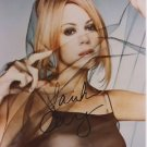 Original MARIAH CAREY Signed Autographed 8X10 Photo Picture w/COA