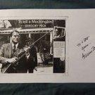 Original Legendary GREGORY PECK Signed Autographed 11x17 Photo Picture w/COA JSA