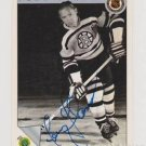 Original FERN FLAMAN Autographed NHL Ultimate 2.5x3.5 Card w/COA