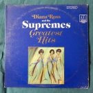 """DIANA ROSS and the SUPREMES  """"GREATEST HITS"""" 2 Vinyl 12"""" LP  2-663"""
