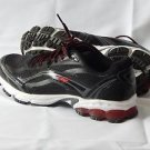 New AVIA Mens Pulse Trail Running Shoe Black/Steel Grey/F1 Red 7.5 W US/41.5 EU