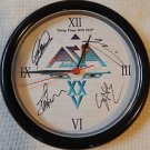 ASIA ORIGINAL Signed Autograph by ALL 4 Founders WALL CLOCK  w/COA
