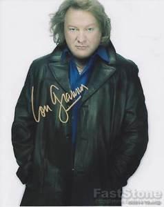 LOU GRAMM of FOREIGNER Original Signed Autograph 8X10 Photo Pic w/COA