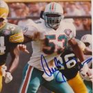Original AUBREY BEAVERS DOLPHINS Signed Autographed 8X10 Photo Picture w/COA
