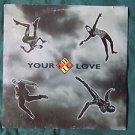 "CHIC  ""Your Love"" Vinyl 12"" LP  0-40393"