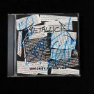 "METALLICA Signed Autographed by ALL 4  ""WHISKEY IN THE JAR"" CD w/COA"