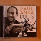 "PAUL ANKA Signed Autograph  ""DUETS"" CD w/COA"