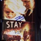 """Original """"STAY"""" Signed Autographed by NAOMI WATTS & EWAN McGREGOR  DVD"""