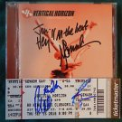 "Original VERTICAL HORIZON Signed Autographed by ALL 4 CD ""LIGHTHOUSE"" w/COA"