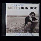 "JOHN DOE Autographed Signed CD ""MEET"" w/COA"