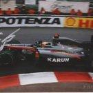 ORIGINAL KARUN CHANDHOK F1 Pilot Signed Autographed 5X7 Photo Picture w/COA