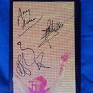 "DEPECHE MODE Signed Autographed by ALL 3 ""TOUR OF THE UNIVERSE"" 2DVD/2CD w/COA"