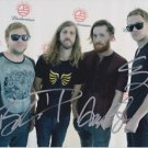 Original IMAGINE DRAGONS Autographed Signed by ALL 4 8.5x11 Photo Picture w/COA