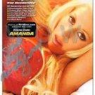 Original Adult Porn Star AMANDA JONES Signed Autograph 5x8 Photo Pic wCOA