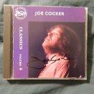 """JOE COCKER Signed Autographed  """"CLASSICS Vol.4"""" CD  w/COA"""