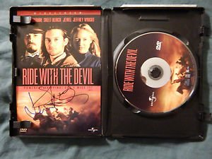 RIDE WITH THE DEVIL Signed Autographed by JEWEL & SKEET ULRICH DVD
