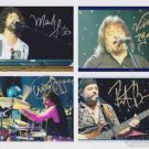 VANILLA FUDGE  Original Autographed Signed by ALL 4  8x10 Photo Picture w/COA