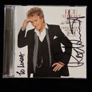 "Original ROD STEWART Signed Autograph ""As Time Goes By"" CD w/COA"