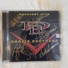 "Original DOOBIE BROTHERS Signed Autographed by 6  ""Greatest Hits"" CD w/COA"