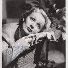 MARLENE DIETRICH Original Autographed  Signed  8x10 Photo Picture w/COA