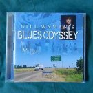 "Legendary BILL WYMAN of ROLLING STONES Signed Autograph ""Blues..."" CD w/COA"