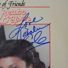 """Legendary NATALIE COLE Signed Autographed  """"We're the Best of Friends"""" LP w/COA"""