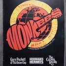 The MONKEES Signed Autographed by ALL 4 !! 11x14 1986 TOUR PROGRAM