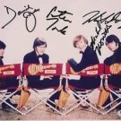The MONKEES Signed Autographed 8x10 Photo Jones Tork Dolenz & Nesmith PSA/DNA