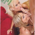 Porno Adult Star BECCA BLOSSOMS Autographed signed 8x10 Photo Picture REPRINT