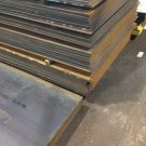"11 GA 1/8 Steel Plate 10"" x 19"" Flat Bar 11 Gauge Steel"