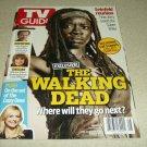 Danai Gurira Michone TV Guide Double Issue The Wlking Dead